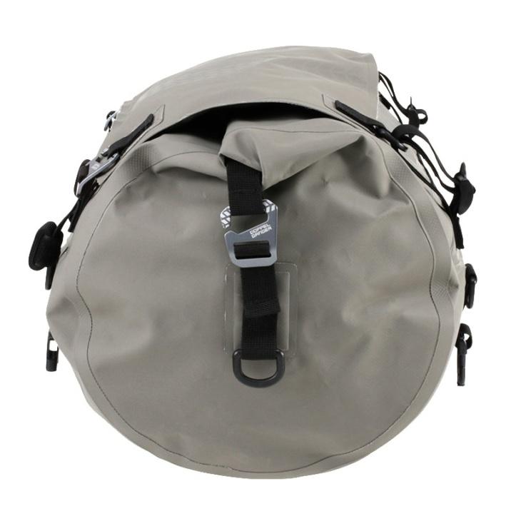 DOPPELGANGER(ドッペルギャンガー)DBT511-KH ターポリンツーリングドラムバッグ 横