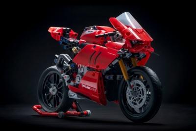V4エンジンの回転も再現!ドゥカティ・パニガーレV4 Rのレゴモデルが6月1日から国内販売開始