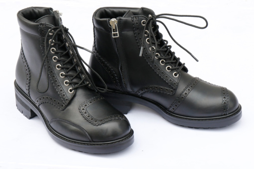 MaxFritz MFA-2381 MEDALLION ZIPUP BOOTS(LADYA'S) ブラック