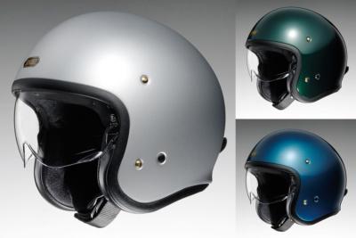 """SHOEIのインナーバイザー付きジェットヘルメット""""J・O""""に新色3種追加!"""
