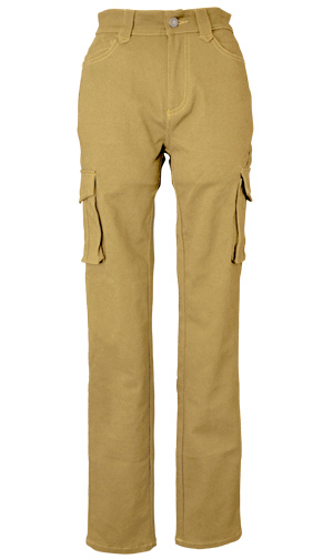CLEVER CLP-229 STRETCH COTTON TOURING PANTS ベージュ