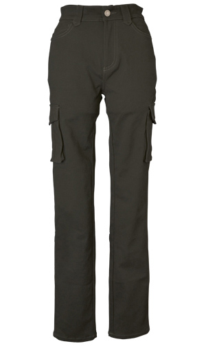 CLEVER CLP-229 STRETCH COTTON TOURING PANTS ブラック