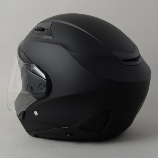 ROM ZEROS(ゼロス)ヘルメット・マットブラック背面
