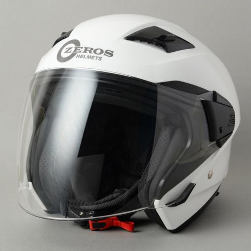 ROM ZEROS(ゼロス)ヘルメット・グラスホワイト