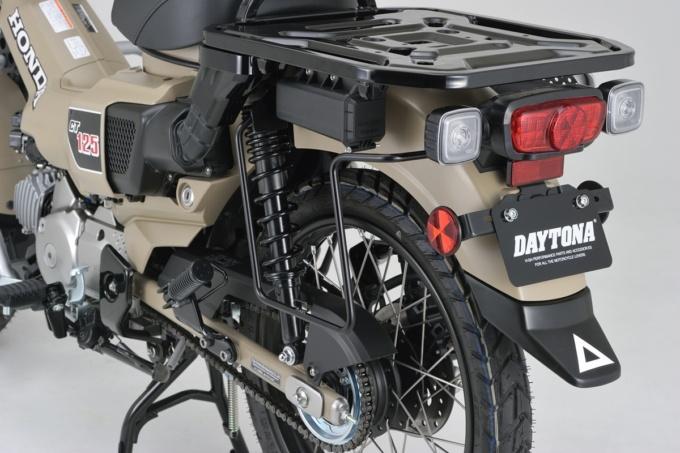 デイトナ HONDA CT125 ハンターカブ専用 サドルバッグサポート