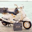 ベスパとクリスチャン・ディオールがコラボ! 特別仕様のスクーターとアクセサリーが登場