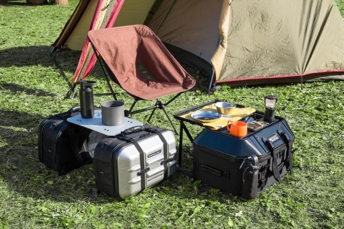 TANAX キャンプテーブルシートバッグとツアーシェルケース用オプションテーブル