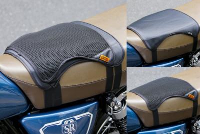 夏の気になるオシリのムレにサヨウナラ! バイク用シートクッションセット クール&ゲル