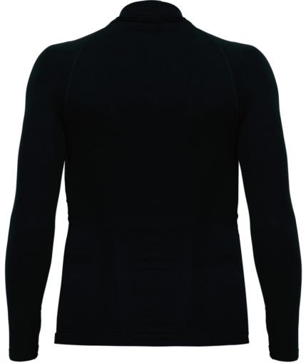 KUSHITANI K-0217 FLAT FIT TOPS ブラック 背面
