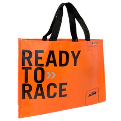 KTM DUKEシリーズ試乗キャンペーン オリジナルグッズのショッピングバッグ