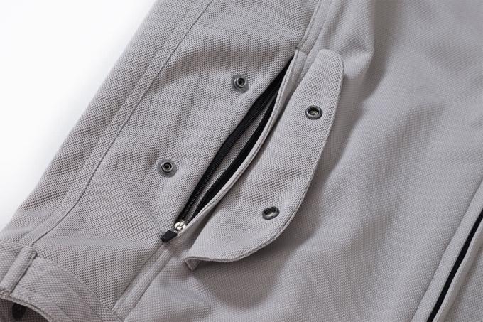 SHINICHIRO ARAKAWA R07 n mesh 2020 ポケットのアップ