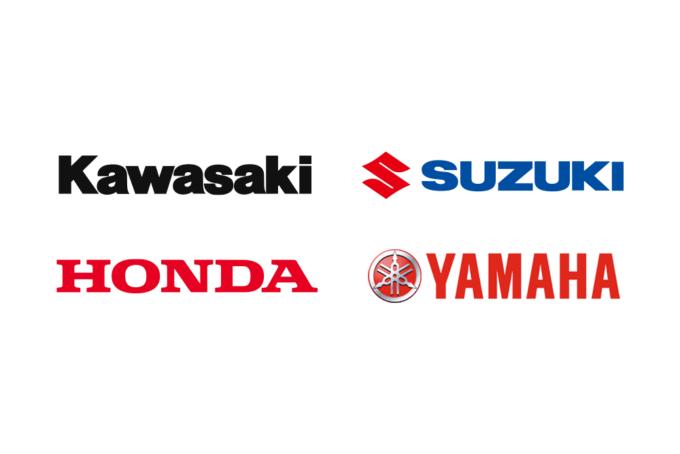 国内バイク4メーカー Kawasaki/SUZUKI/HONDA/YAMAHA