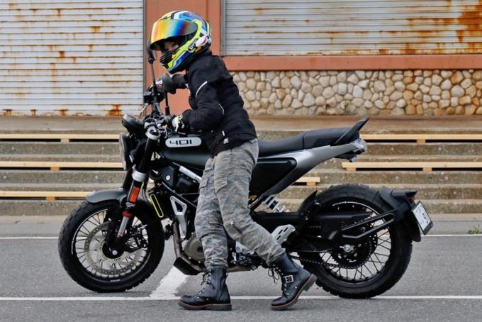 Husqvarna Motorcycles Svartpilen 401 取りまわし
