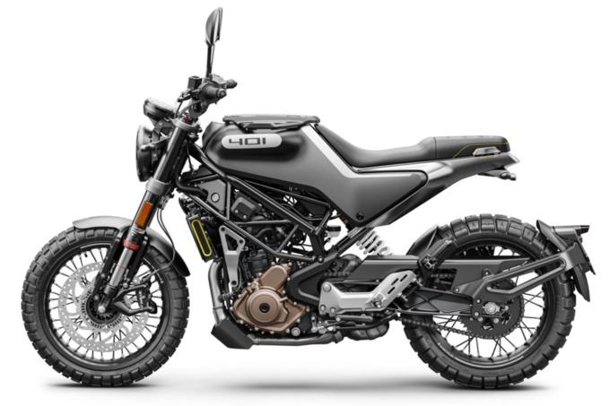 Husqvarna Motorcycles Svartpilen 401