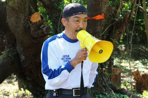 ROAD +AID NETWORKS(R+AN)代表を務める元神奈川県警白バイ隊の清水豊さん