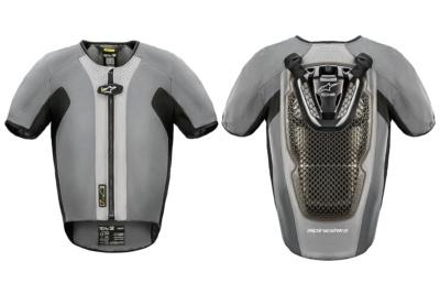 """着るだけ、バイクと接続不要の街乗りエアバッグ""""TECH-AIR5""""アルパインスターズから発売開始"""