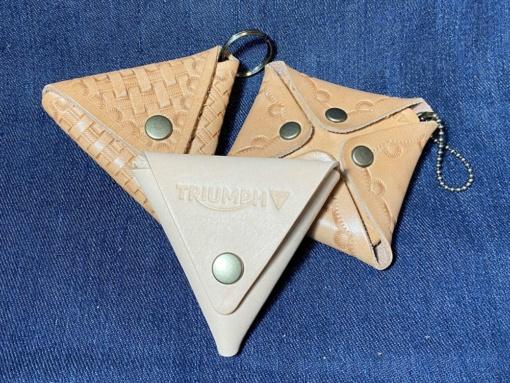 コインケース 三角:1,500円 四角:2,000円