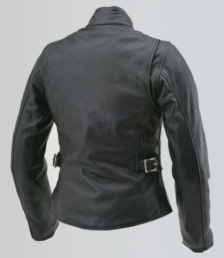 デイトナレザース DL-001 シングルライダースジャケット背面