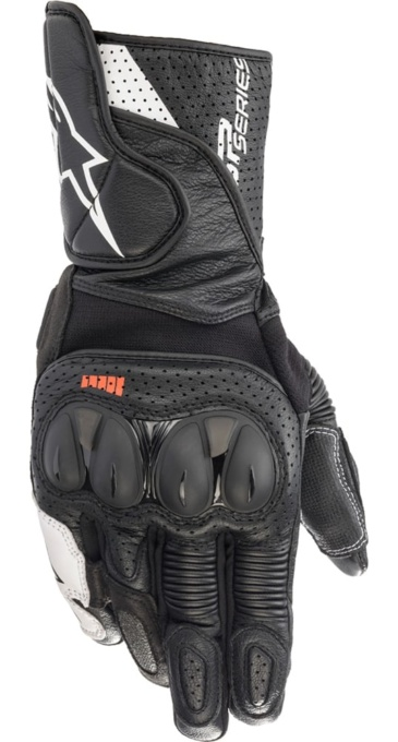 SP-2 V3 LEATHER GLOVE ブラックホワイト