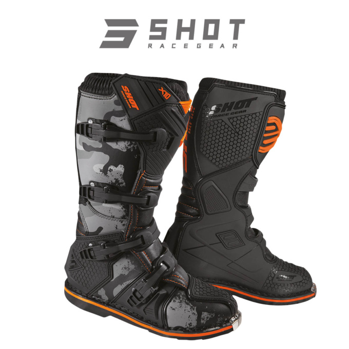 SHOT RACE GEAR ブーツ X10 2.0