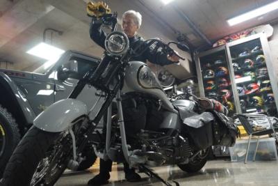 岩城滉一氏が自腹でバイクを本気カスタム!BSスカパー!等で番組の放送が決定!