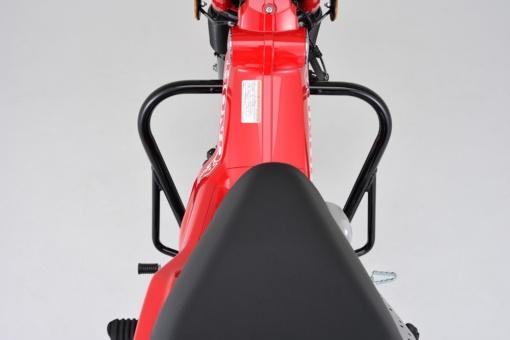 デイトナ CT125用パイプエンジンガード装着イメージ(上面)