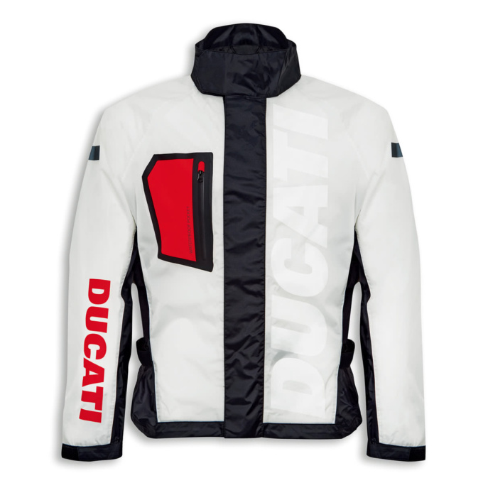 ドゥカティ Aqua レインスーツジャケット