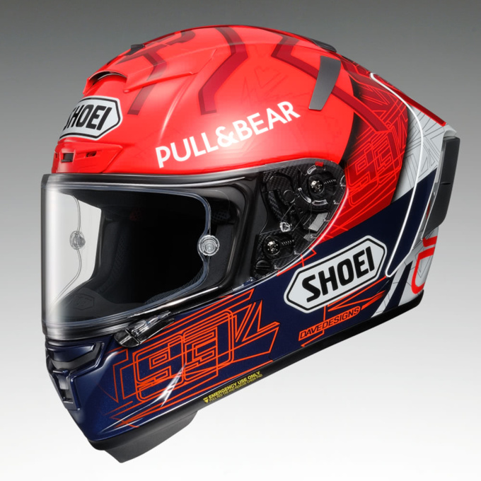 SHOEI X-Fourteen MARQUEZ6 前7:3ビュー