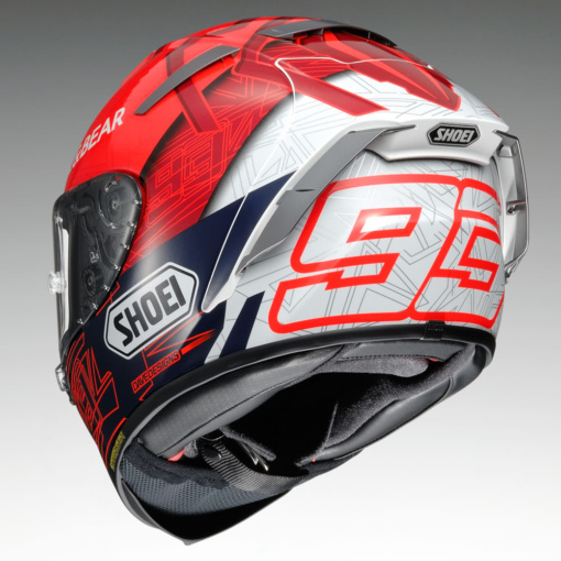 SHOEI X-Fourteen MARQUEZ6 後7:3ビュー