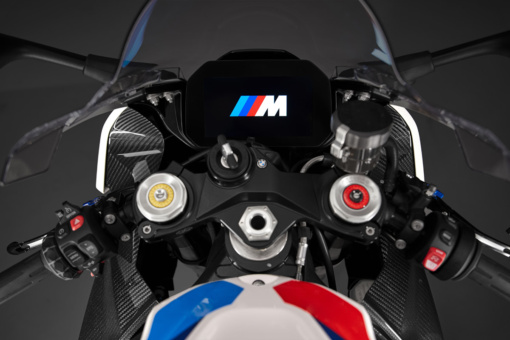 BMW M1000RR コックピット
