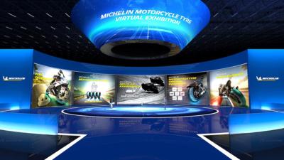 誰でもどこでも参加無料!ミシュランが二輪用タイヤのバーチャル展示会を初開催!