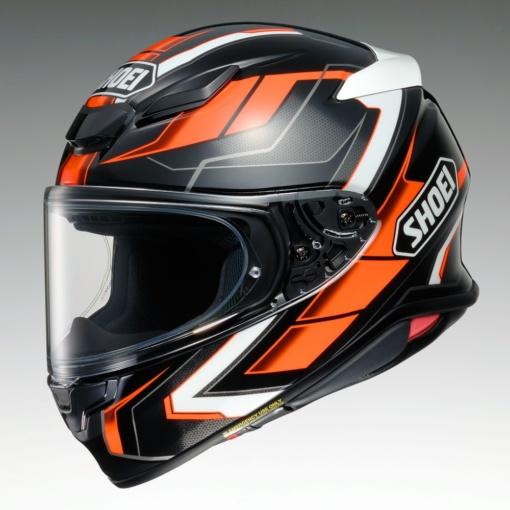 SHOEI Z-8 PROLOGUE(ブラック×ブラック(ブラック×オレンジ)
