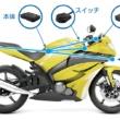 業界初!保険連動対応バイク用ドライブレコーダーがレッドバロンから4月提供スタート