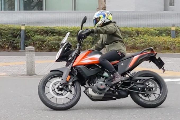 KTM 250 ADVENTURE インプレ