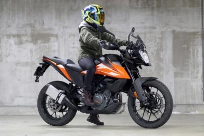 """155cm女子ライダーの、少しは参考になるかも? インプレッション """"KTM 250 ADVENTURE"""""""