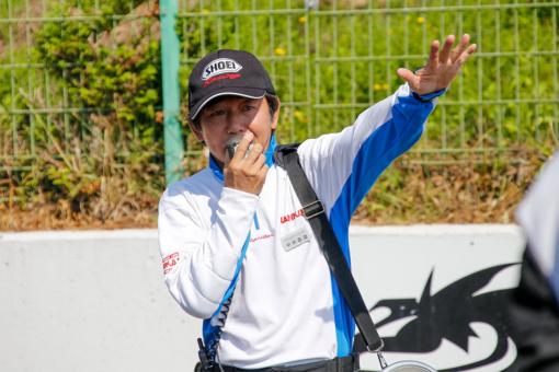 那須MSLライディングスクール 特別講師の中井直道さん