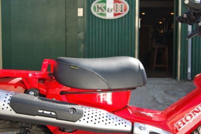 ノーマルから2cmアップ!K&Hから、CT125 ハンターカブ用ハイシートが新登場!