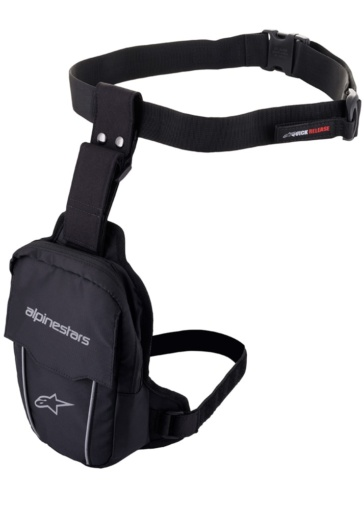 Alpinestars ACCESS THIGH BAG ブラックブラック
