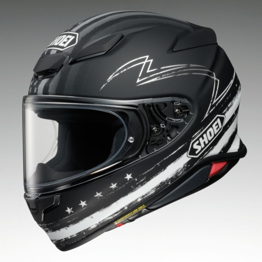 "SHOEI Z-8 ""DEDICATED2""左サイド"