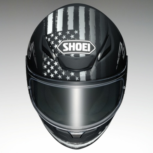 "SHOEI Z-8 ""DEDICATED2""正面"