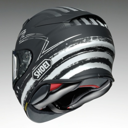"SHOEI Z-8 ""DEDICATED2""背面"