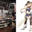 バイク部品擬人化コメディ はんくらっち!のチェーンちゃんが各用品店に出没!