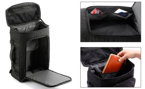 Elut 3WAYシートバッグ(MG201-3SB01)機能イメージ