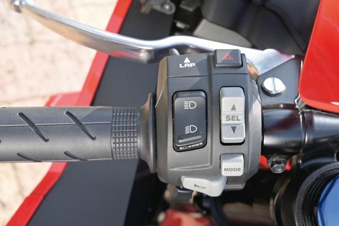 HONDA CBR600RR 左ハンドルスイッチボックス