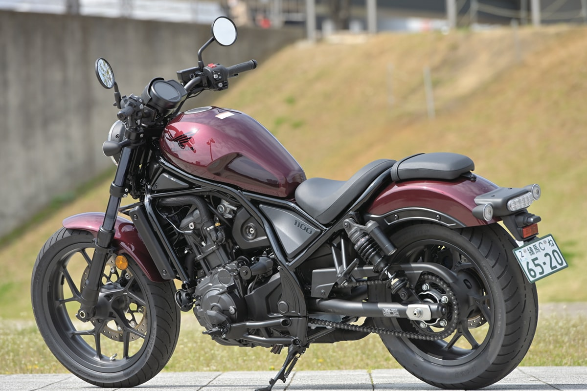 HONDA REBEL1100 左側