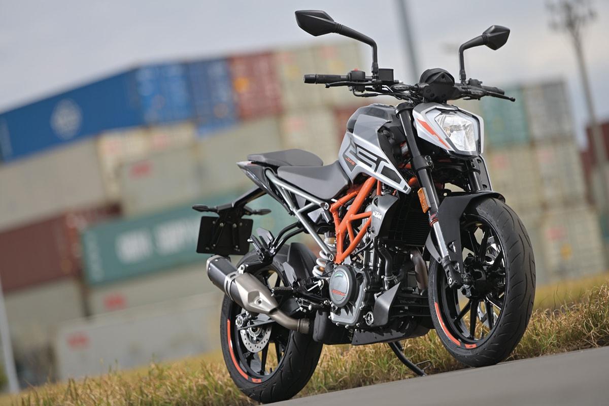 KTM 250DUKE イメージ