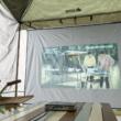 """キャンプで自分だけの即席映画館!持ち運びコンパクトな""""ポータブルLOGOSシネマスクリーン""""が新登場"""