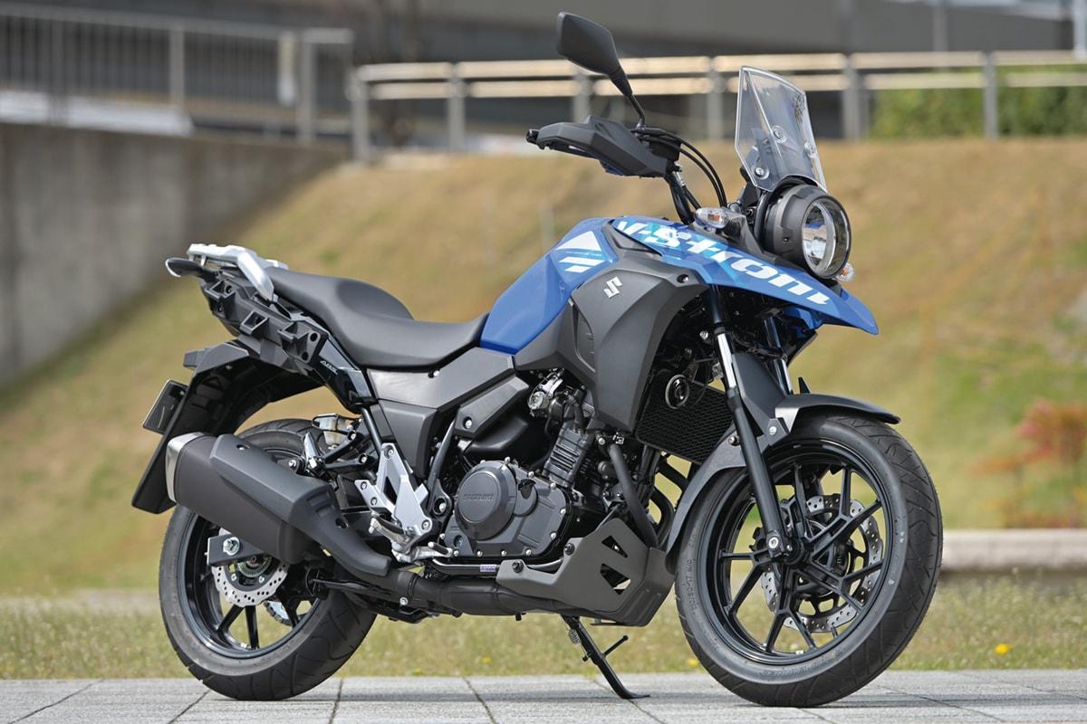 SUZUKI V-Strom250 ABS サイド