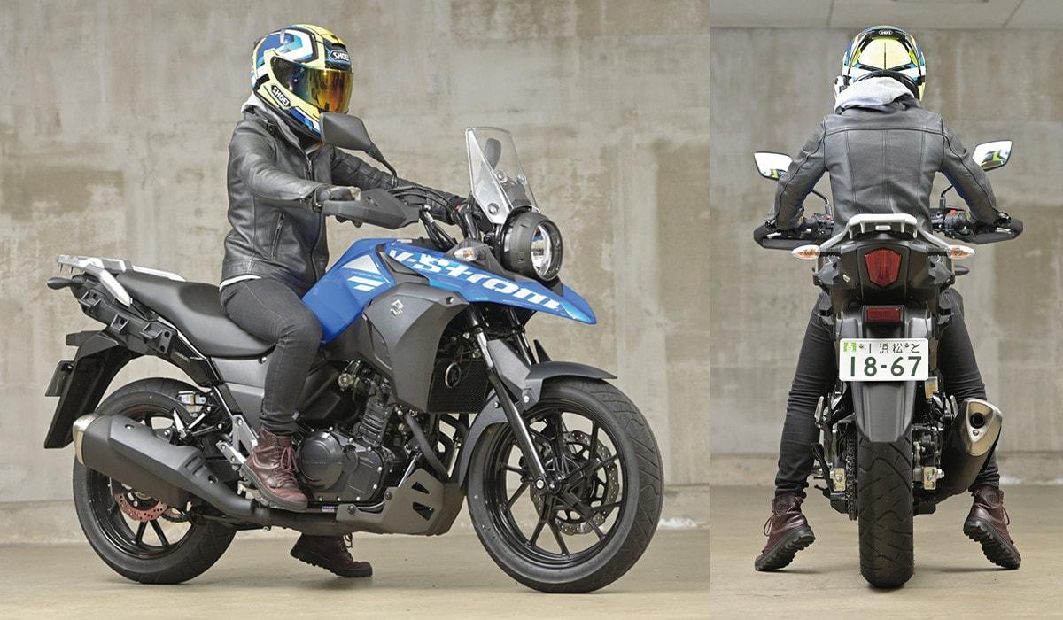 SUZUKI V-Strom250 ABS 足つき