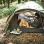Snugpak ケイブでキャンプ